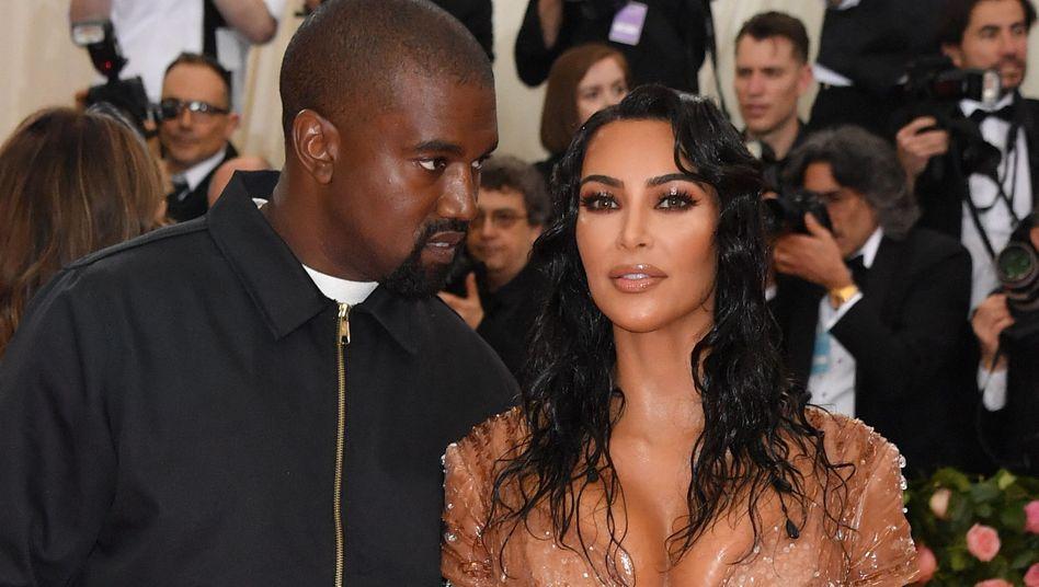 Kanye West und Kim Kardashian in New York (Bild von Mai 2019)