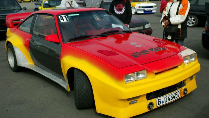 Kultkarre Opel Manta: Fummelbunker mit Heckschürze