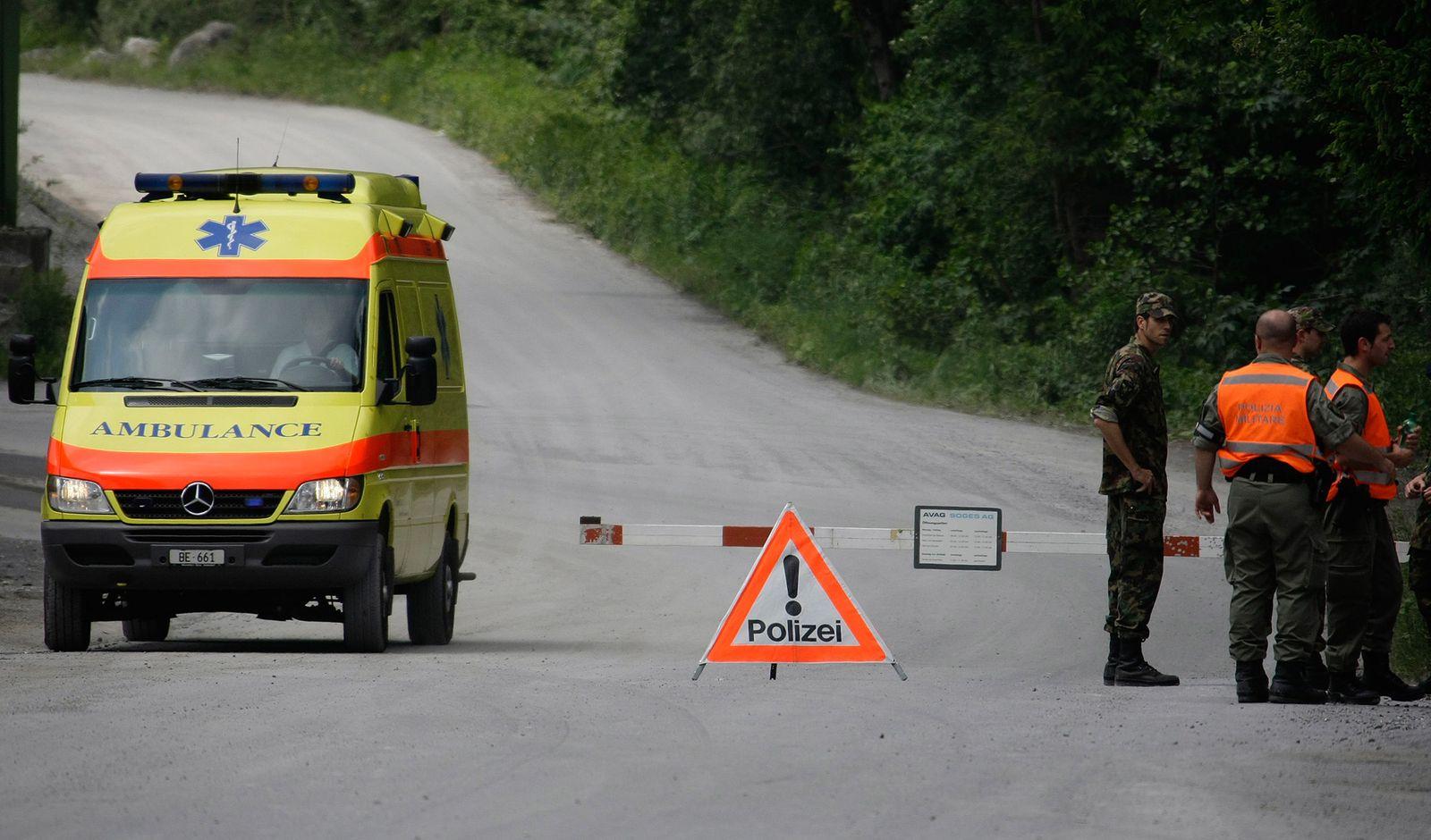 Schweiz / Rettungswagen