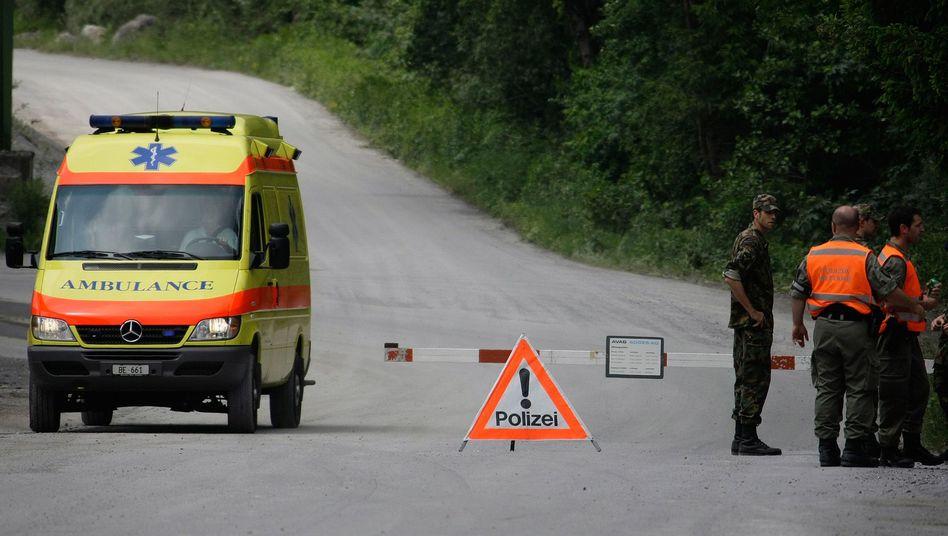 Schweizer Ambulanz: Immer schön langsam