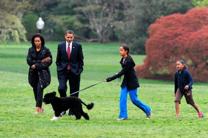 Bo und die Obamas: Umstandslose, patente Volksnähe