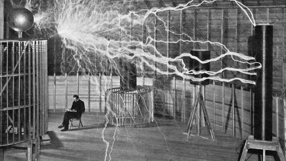 Erfinder Nikola Tesla: Meister der Blitze