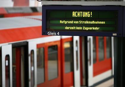 """S-Bahn-Streik in Hamburg: """"GDL-Chef Schell will seine Laufbahn unbedingt mit einem eigenen Tarifvertrag krönen"""""""