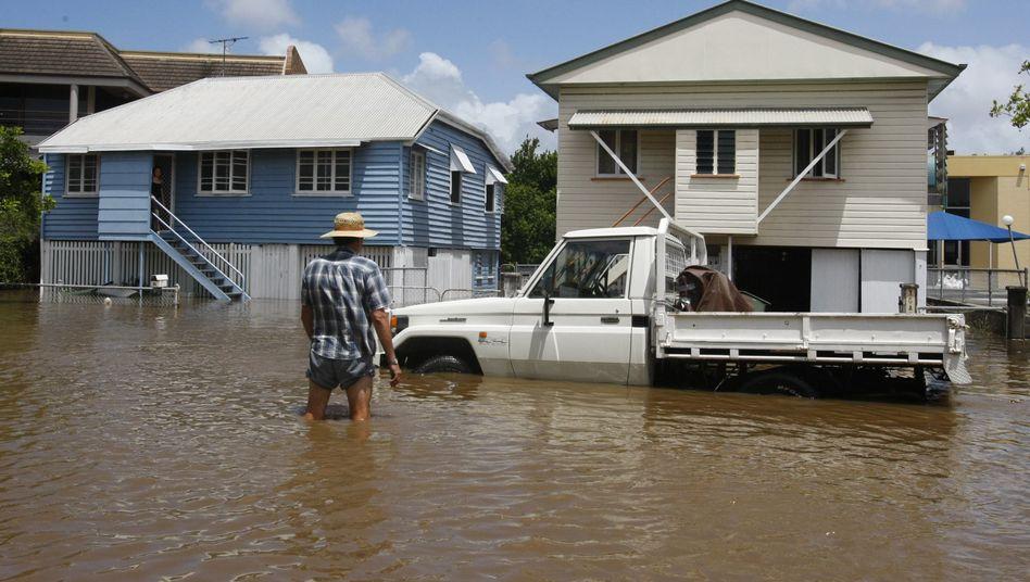 Überschwemmungenin Australien: Flut bedroht 20.000 Häuser in Brisbane