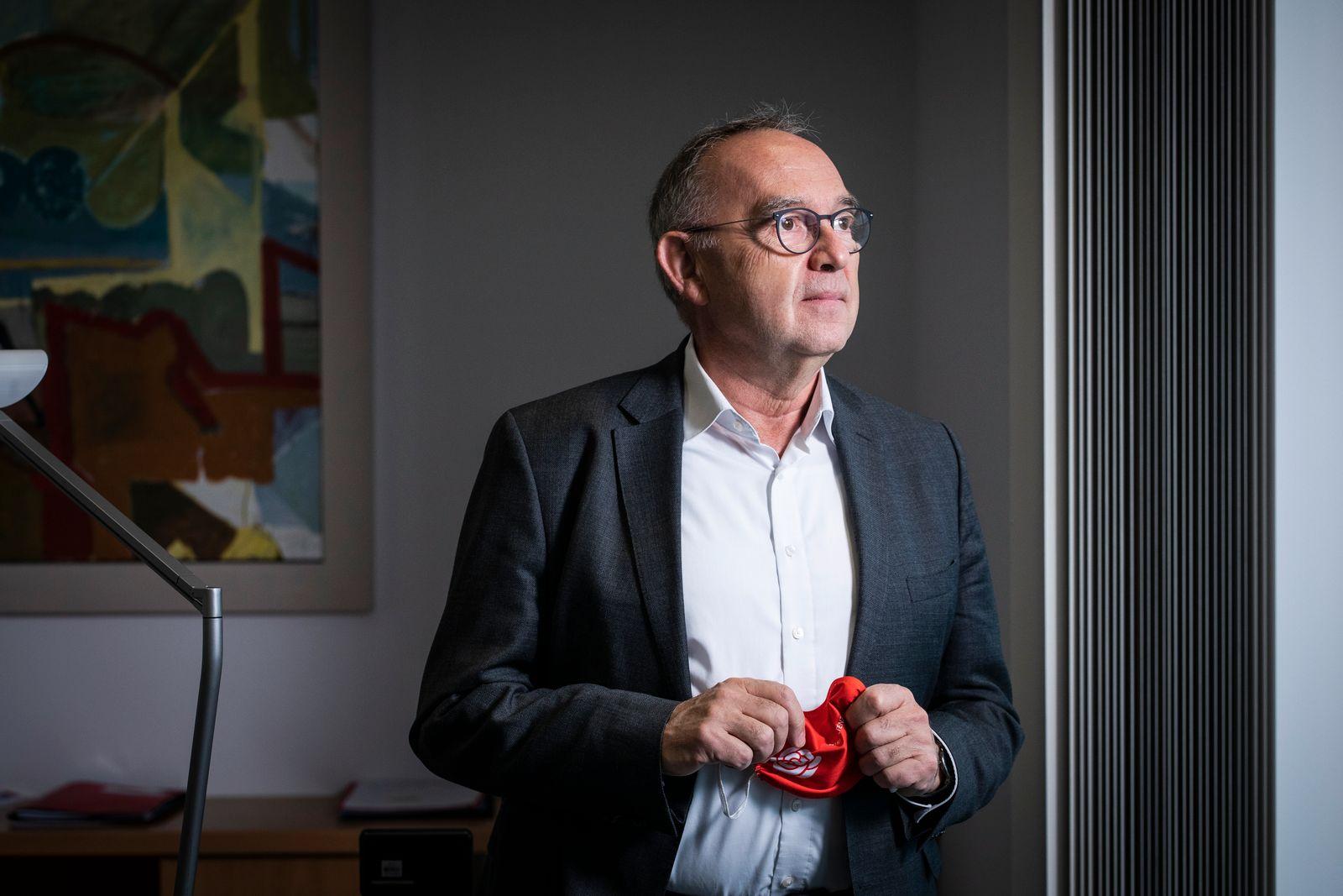 Norbert Walter-Borjans, fotografiert am 15.10.2020 im Willy-Bran