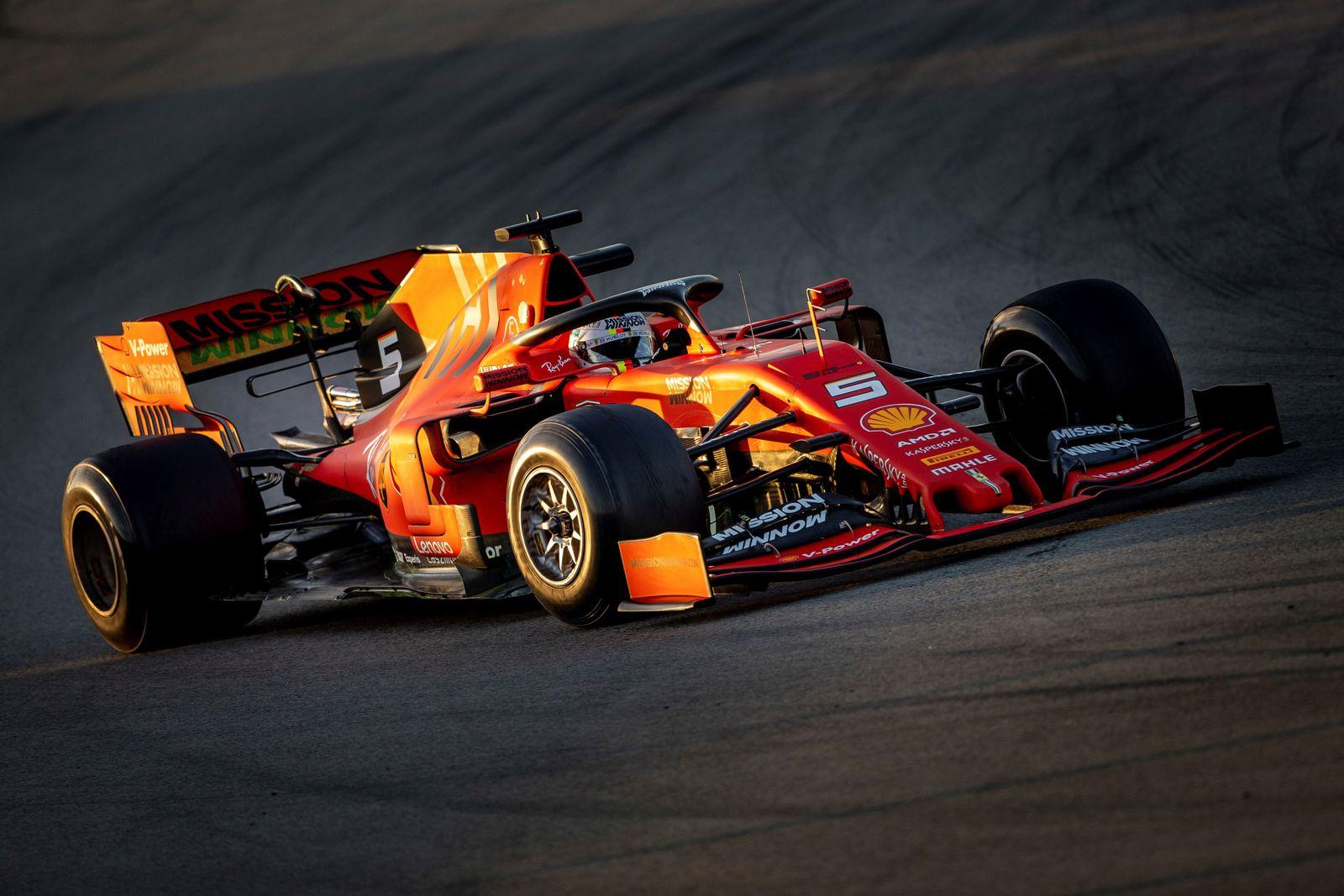 Ferrari Vettel 2019