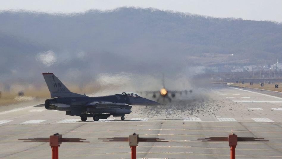 US-Jets in Südkorea