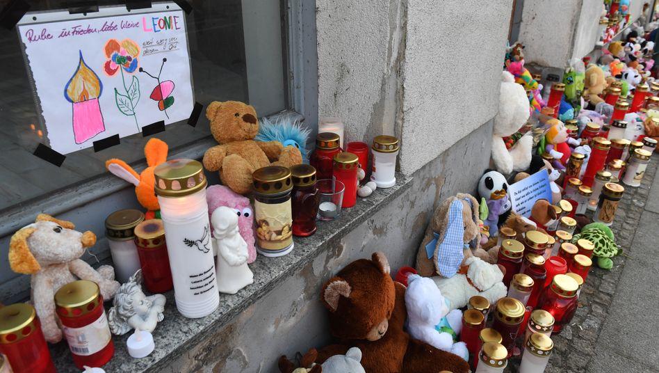 Trauer um die sechsjährige Leonie (Archivbild)