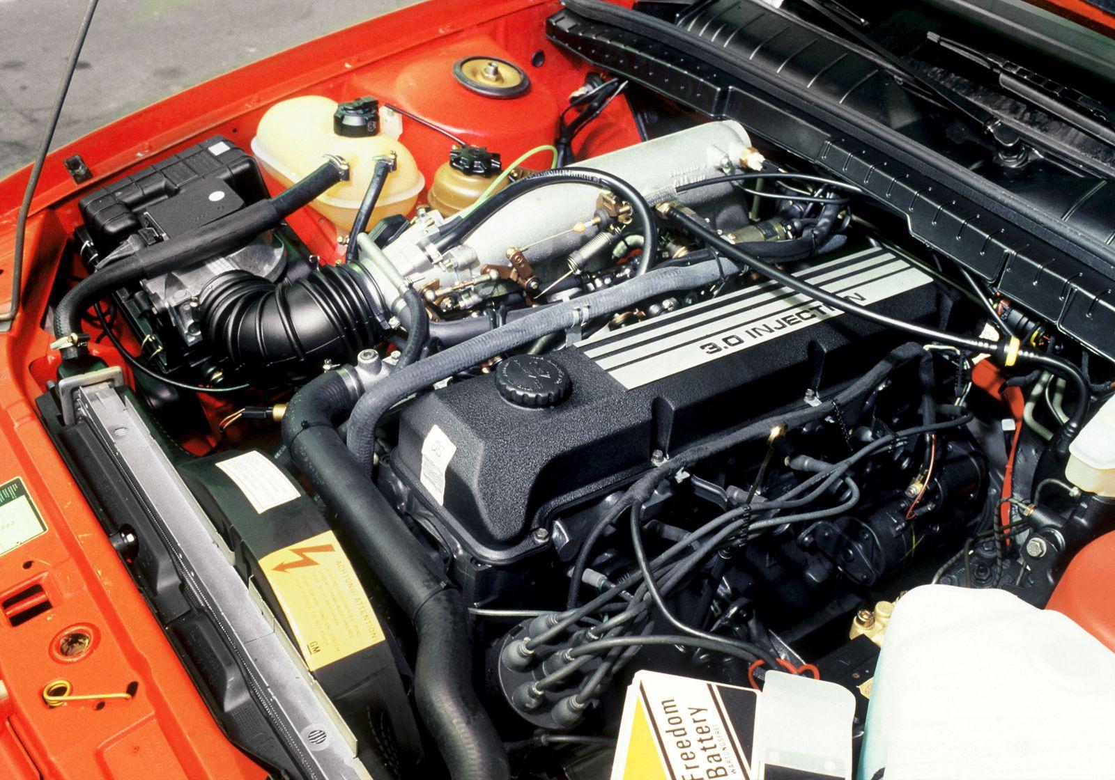 Opel Omega 3.0i, 1987