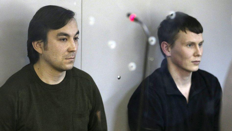 Jewgenij Jerofejew und Alexander Alexandrow in Kiew
