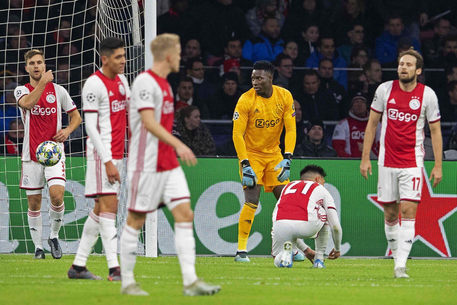Ajax Ausscheiden