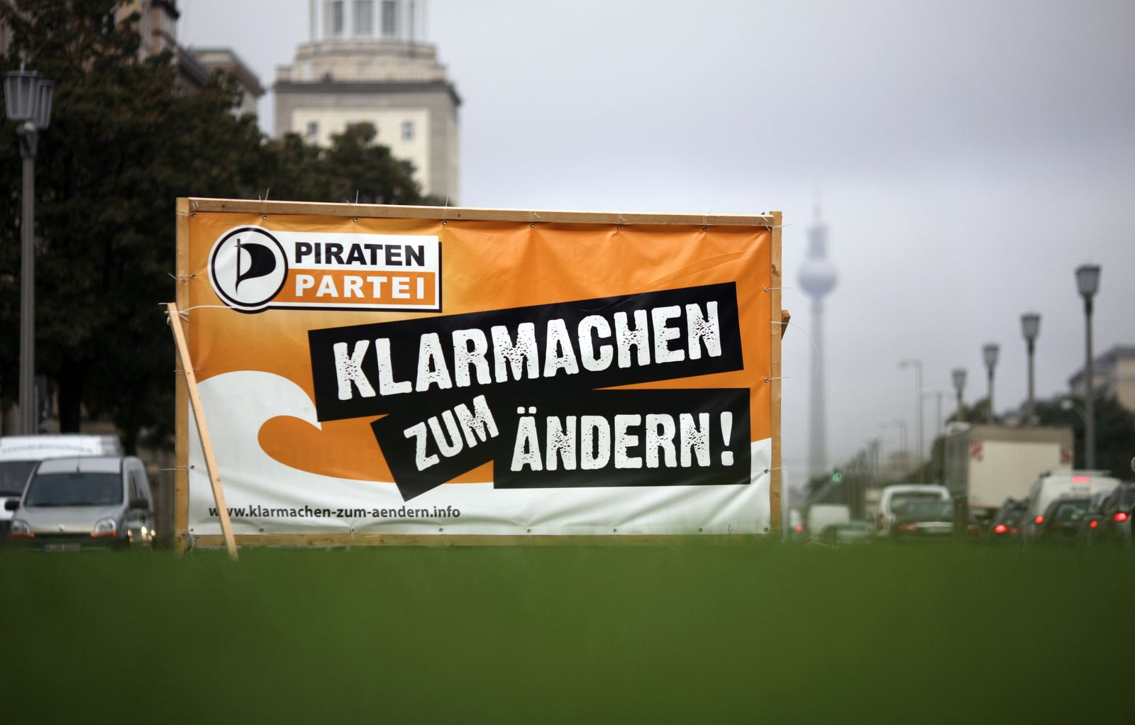 Piratenpartei/ Wahlplakat/ Berlin