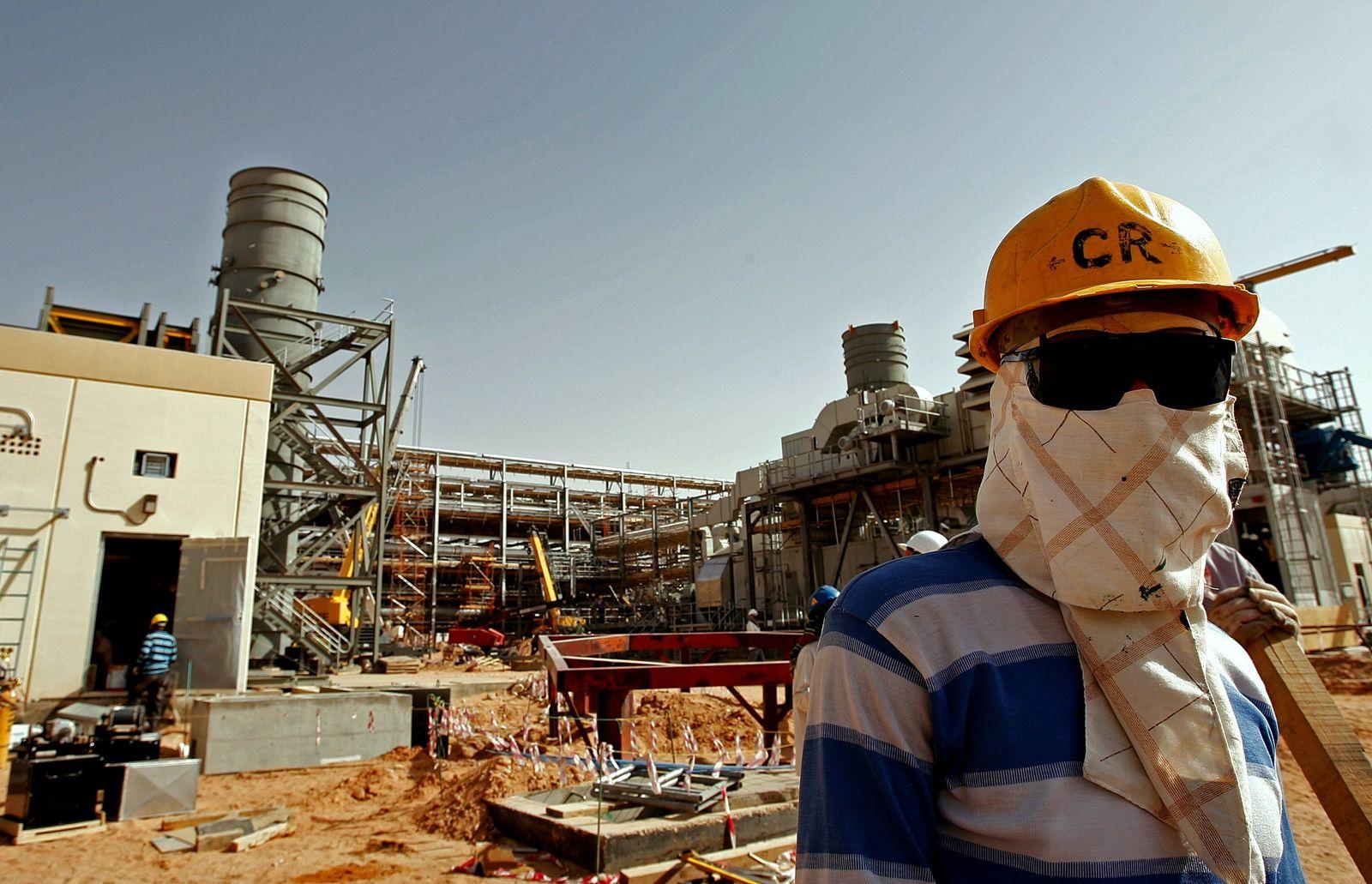 Ölförderung / Saudi-Arabien