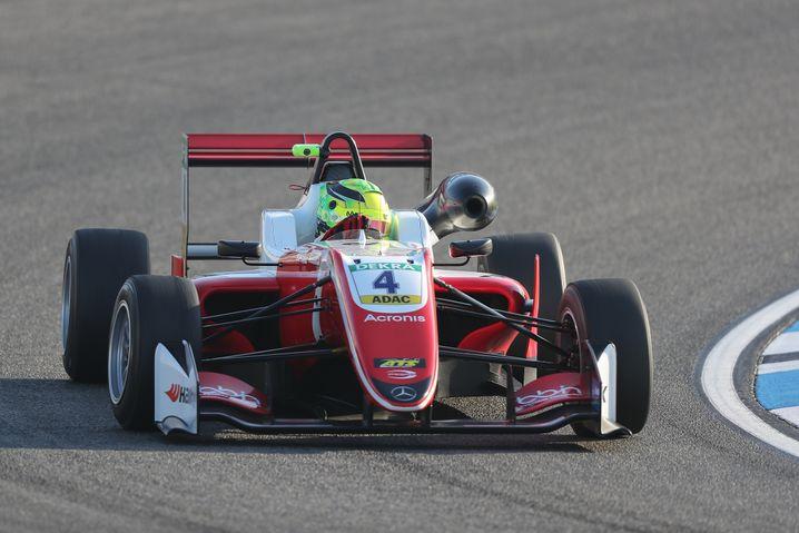 Mick Schumacher beim Training auf dem Hockenheimring
