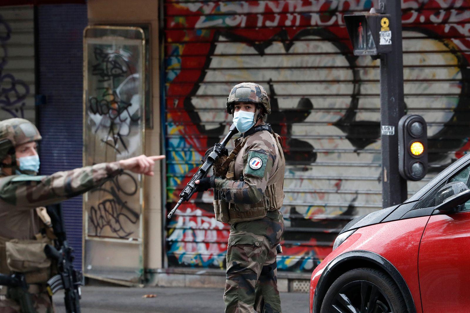 France Knife Attack