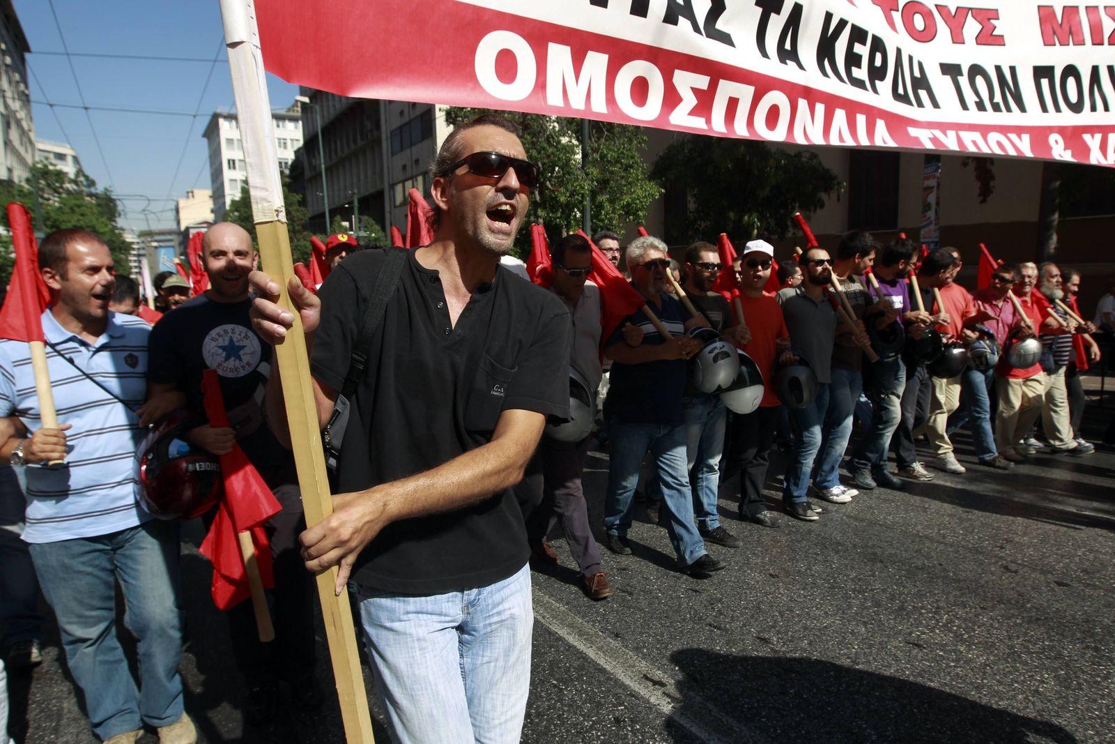 Griechenland / Streik / Finanzkrise