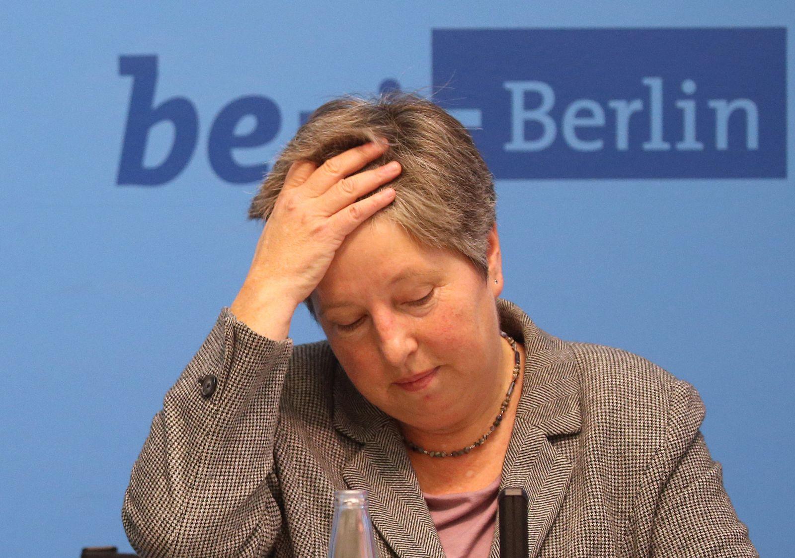 Berlins Stadtentwicklungssenatorin Lompscher tritt zurück
