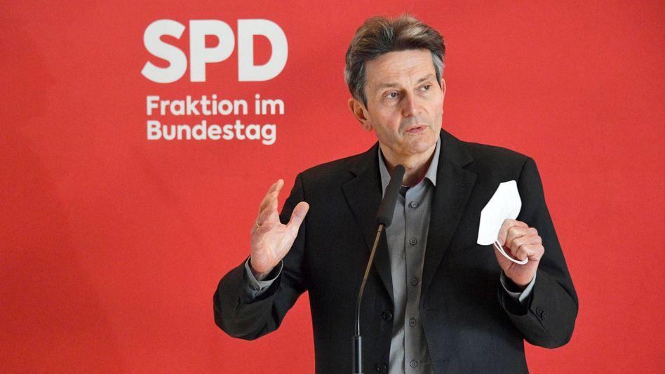 SPD-Fraktionschef Rolf Mützenich