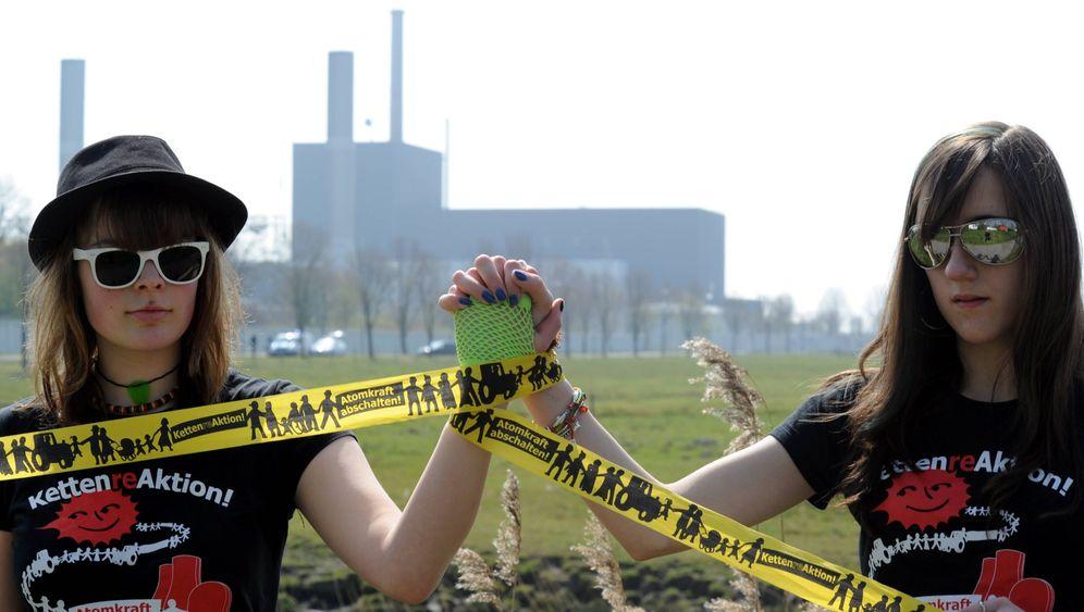 Massenprotest: Nein zur Atompolitik