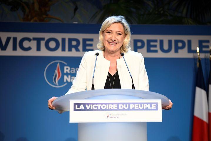 Frankreich: Marine Le Pen siegt
