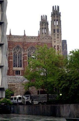 Das Unigebäude in Yale: Hier studierte auch George W. Bush