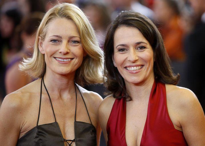 Das Paar im Jahr 2008