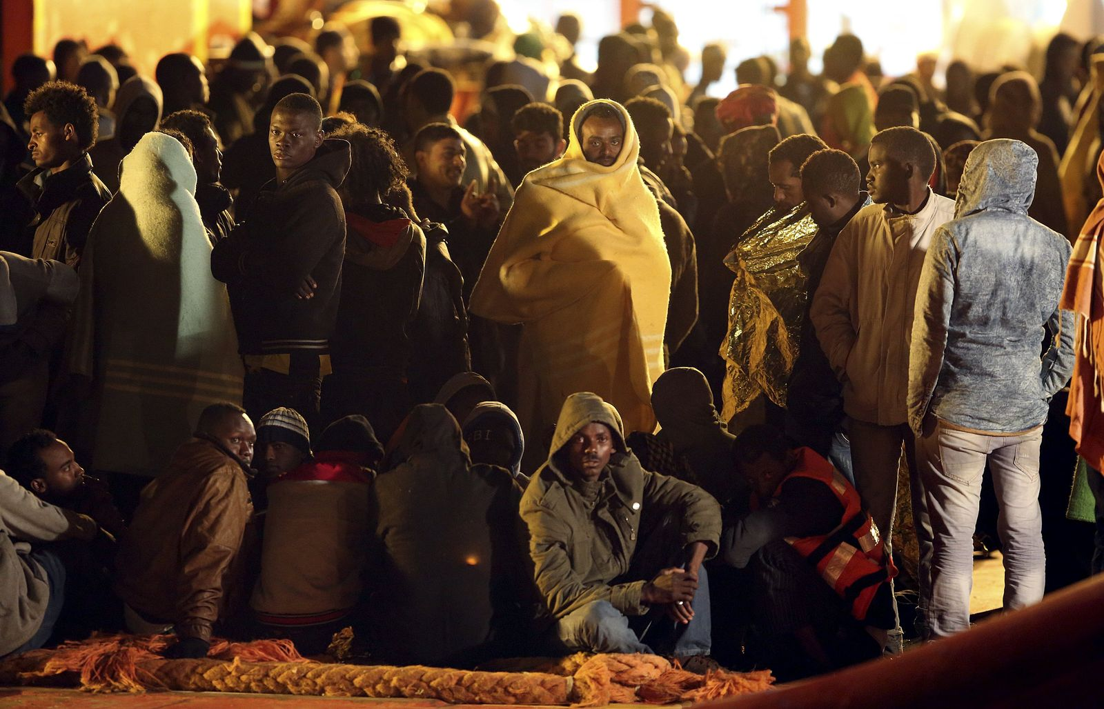 Italien Flüchtlinge Pozzallo