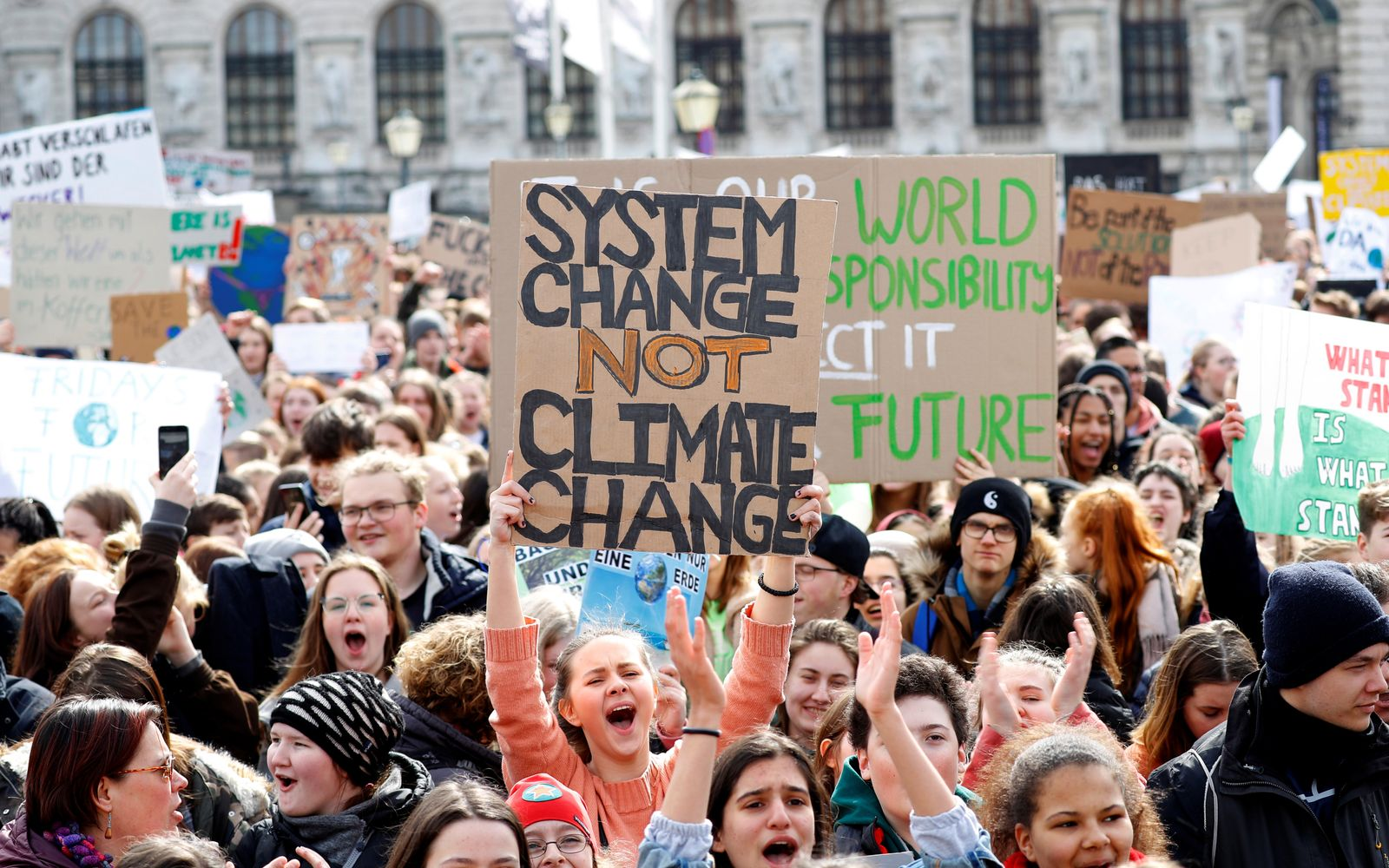 Fridays for Future Demonstration/ 15. März 2019