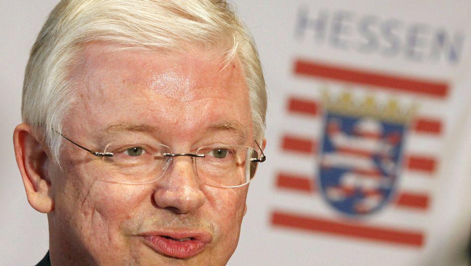 Hessens Ministerpräsident Koch: Rundfunkfreiheit in Gefahr?