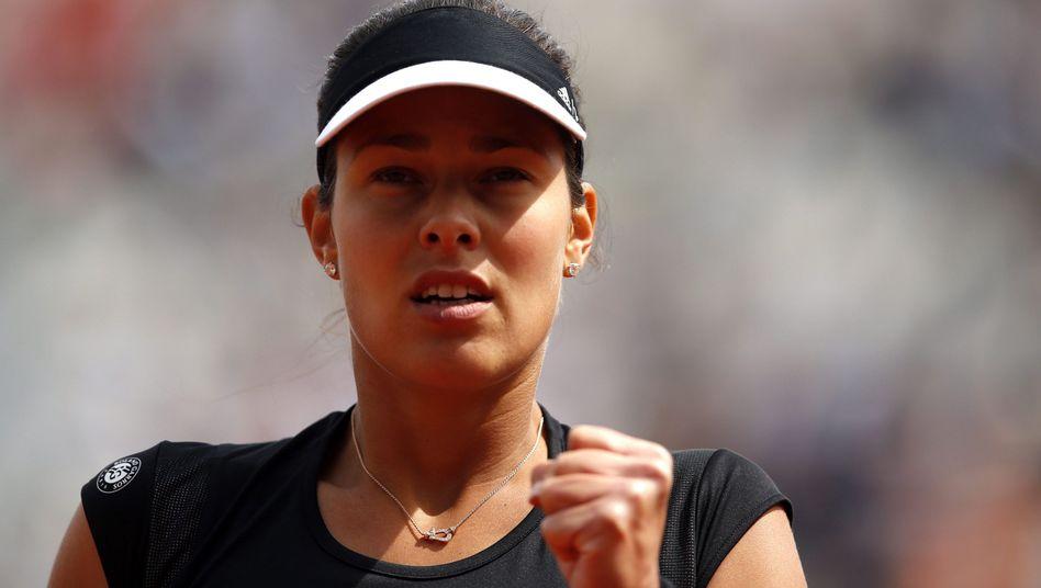 Souveräner Erfolg: Ana Ivanovic ist ins Achtelfinale der French Open eingezogen.