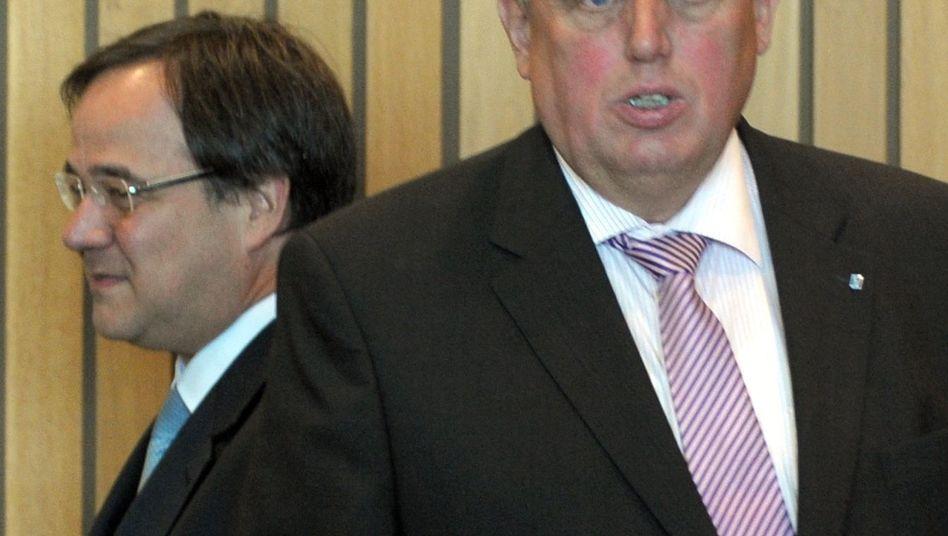 Laumann (rechts), Laschet: Gewinner steht Rüttgers nahe