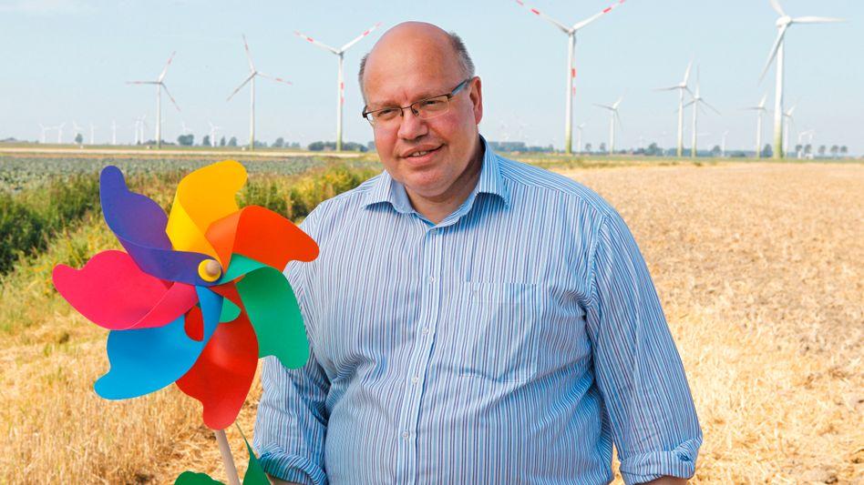 """Peter Altmaier: """"Ich habe wohl bald jedes Windrad persönlich begrüßt"""""""