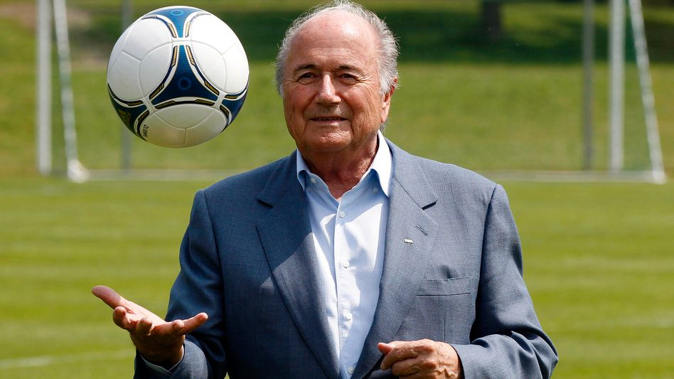 FIFA boss Sepp Blatter has reheated accusations that the vote to award to the 2006 World Cup to Germany was not entirely above-board.