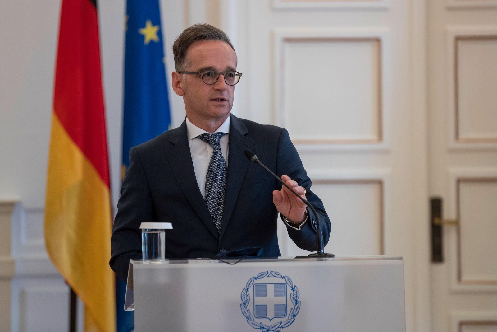 Außenminister Maas in Griechenland