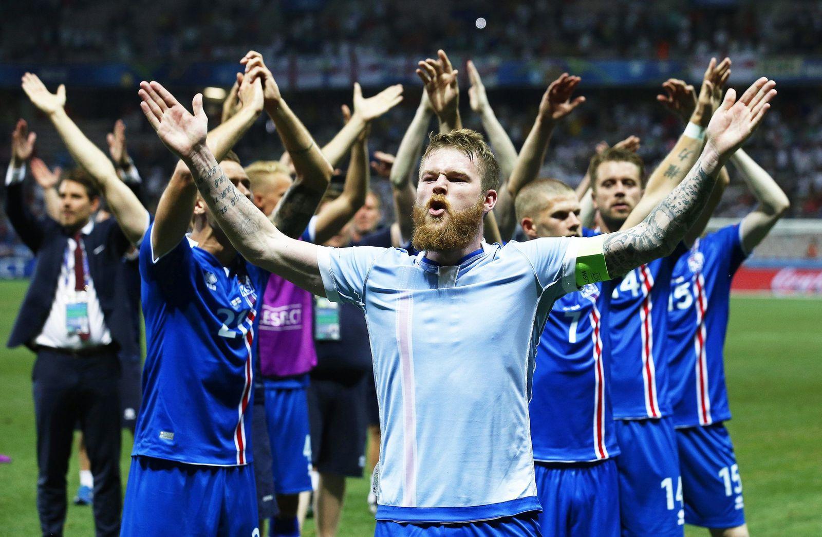 EURO 2016/ Island/ WM 2018/ isländisches Team