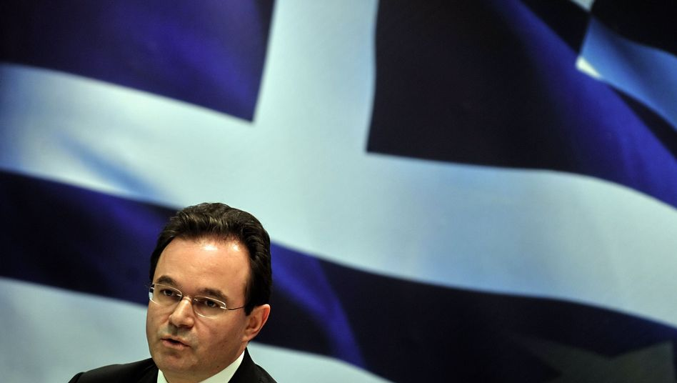 Greek Finance Minister George Papaconstantinou is facing intense pressure from his European Union colleagues to get his country's finances back on track.