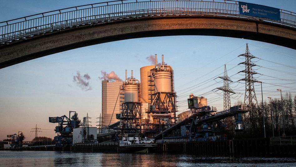 Das Uniper Kohlekraftwerk Datten 4 - die geplante Inbetriebnahme ist einer der Kritikpunkte der früheren Kohlekommissionsmitglieder