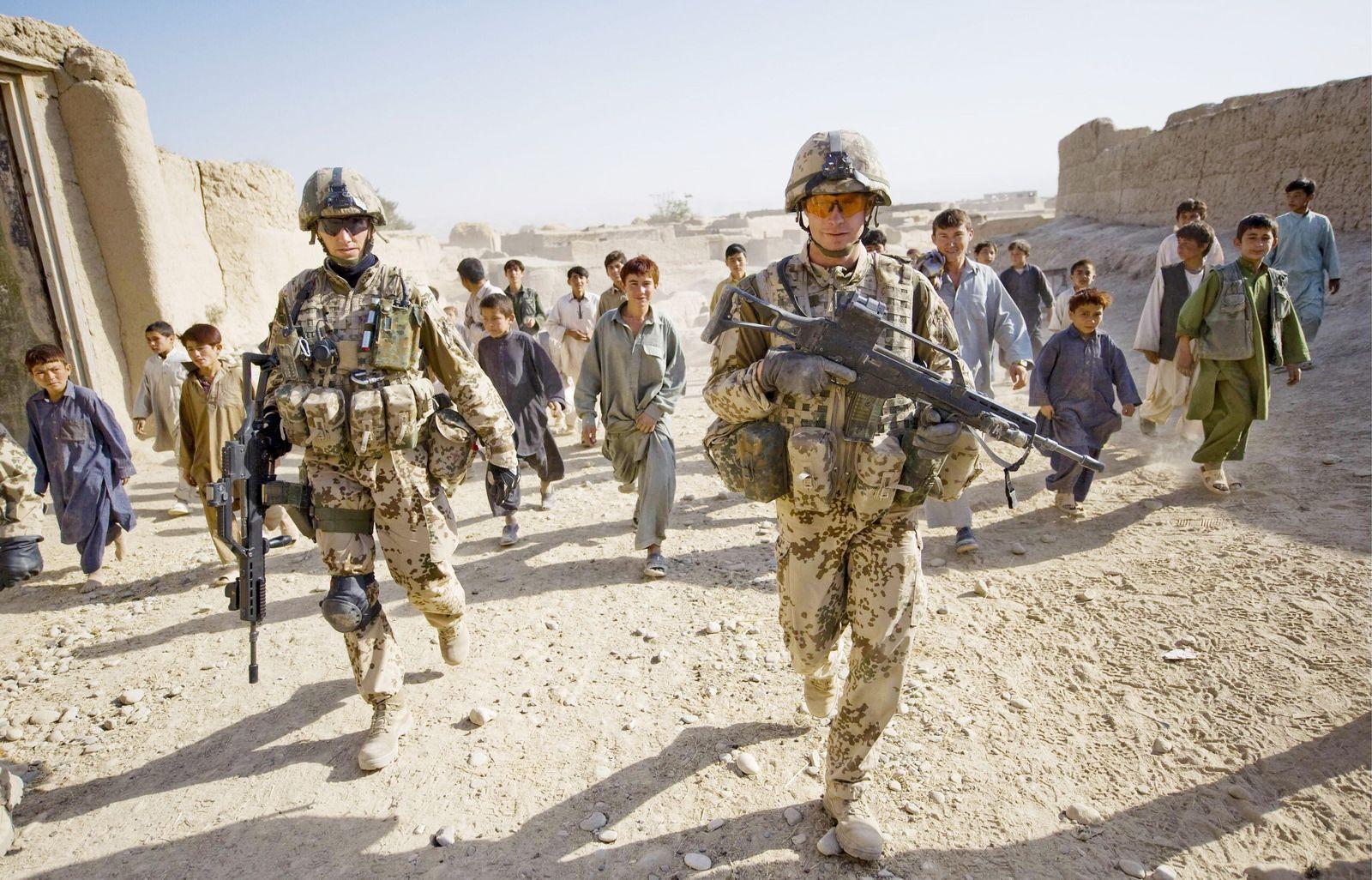 NICHT VERWENDEN Afghanistan/ Bundeswehr