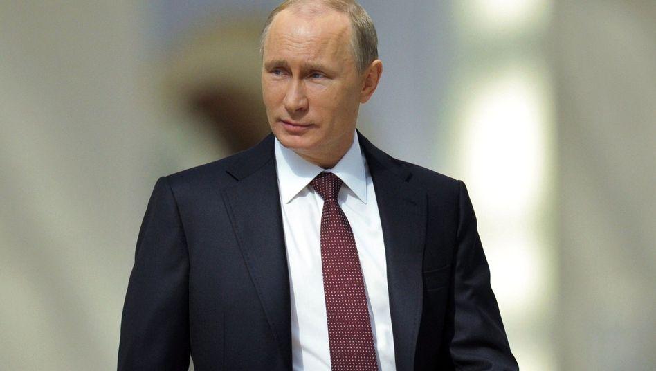 Russischer Präsident Putin: Erst ausgebootet, jetzt umworben
