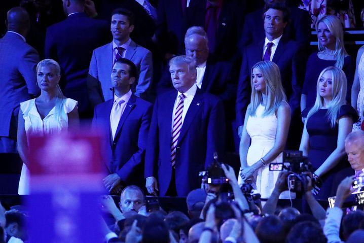 Donald Trump und Familie