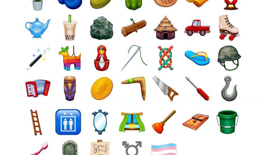 Die kommenden Emojis in der Übersicht