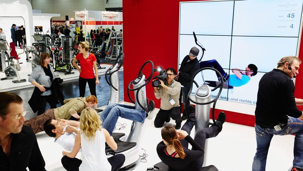 Fibo-Messe: Das größte Fitnessstudio der Welt