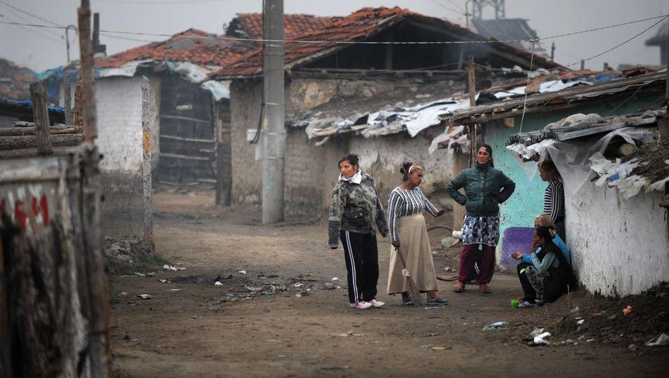 Roma-Slum im bulgarischen Nikolaevo: Die Menschen ergreifen die Flucht