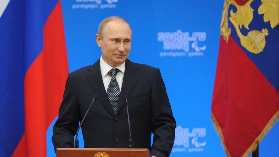 Präsident Putin: Offizielle Anerkennung der Krim