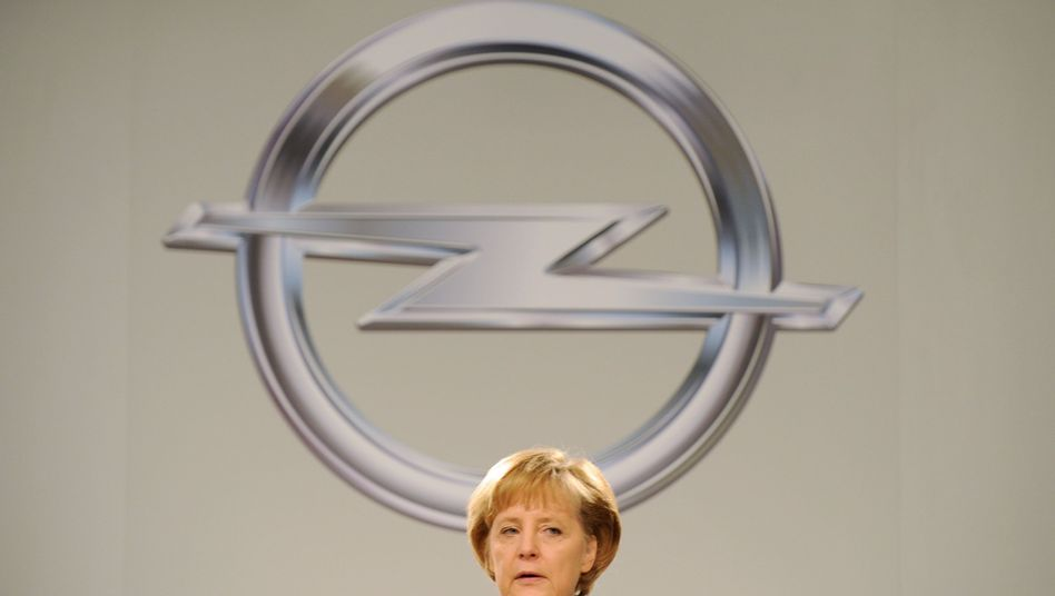 """Kanzlerin Merkel: """"Schnellstmöglich"""" ein neues Konzept für Opel"""