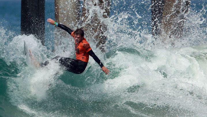 Surfer Dane Reynolds: Künstler in der Welle