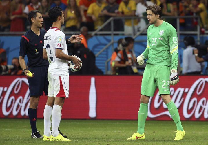 Elftal-Torwart Krul (r.): Ansage an Costa Ricas Giancarlo González