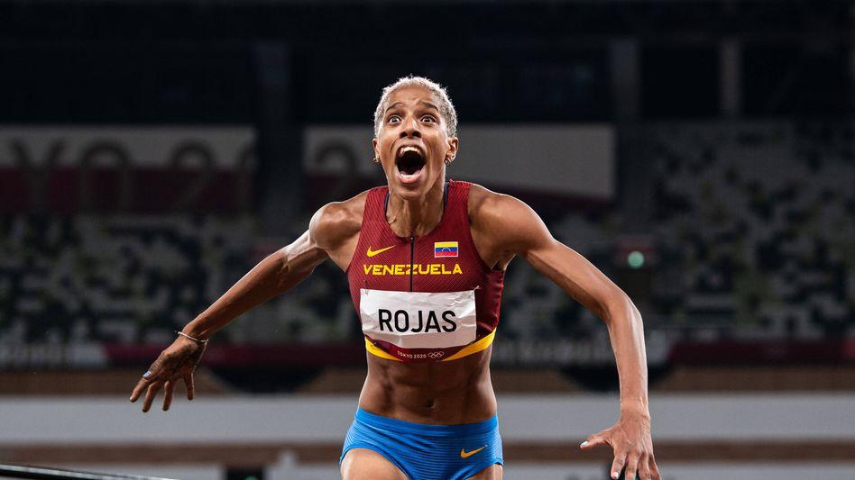 Dreispringerin Yulimar Rojas