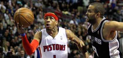 Noch-Piston Iverson (l.): Konstanter Punktelieferant