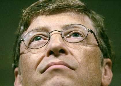"""Phishing, Spam, Hackerei: Für Bill Gates """"ernste Themen"""""""